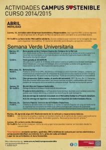Programa Abril - Movilidad