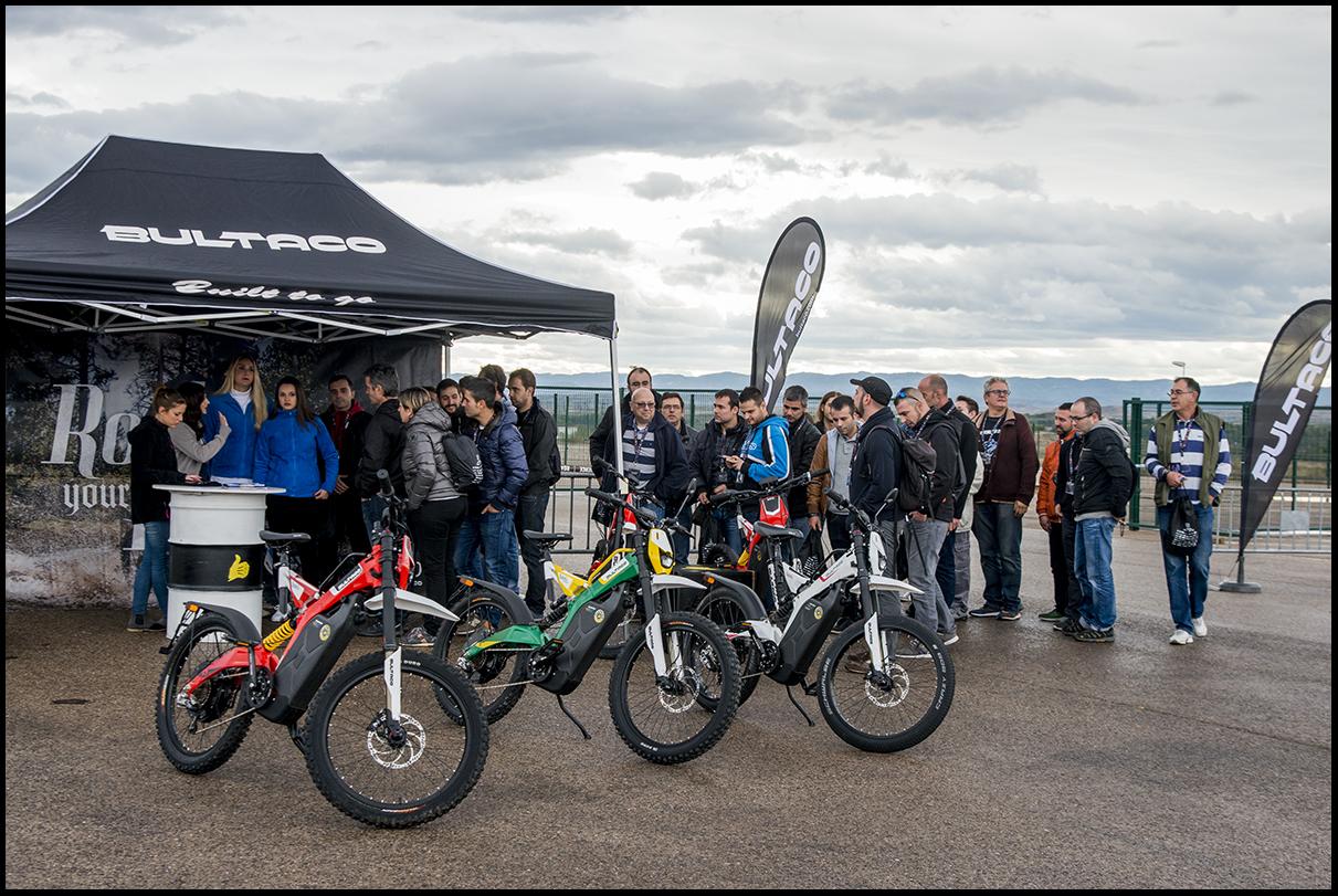 bultaco brinco en road show experience motorland aragn